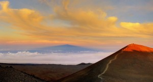 Summit of Mauna Kea - image by Tom Kerr