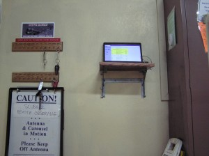 JCMT Check-in Computer